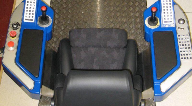 DrillSIM:600 Pannier Controls