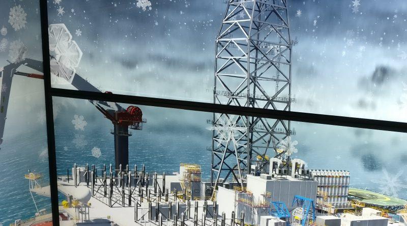 Graphical Crane and Lifting Simulation Display