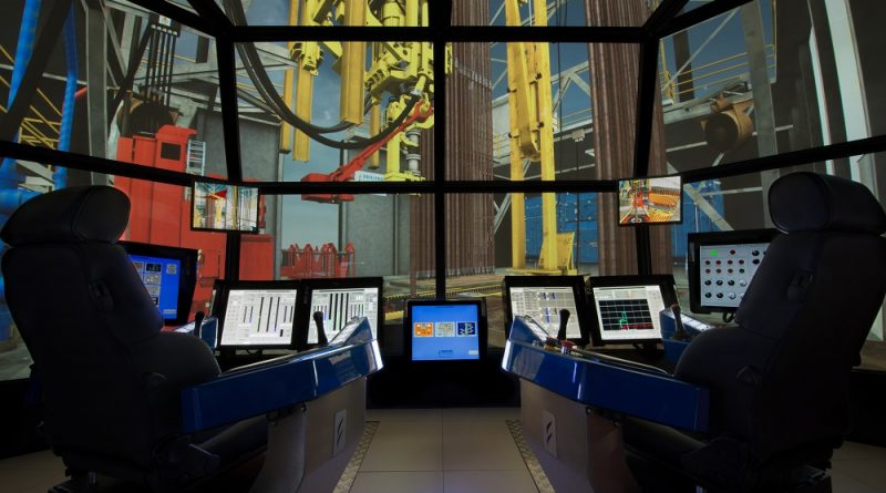 DrillSIM:6000 drilling and well control simulator at Diamond Offshore
